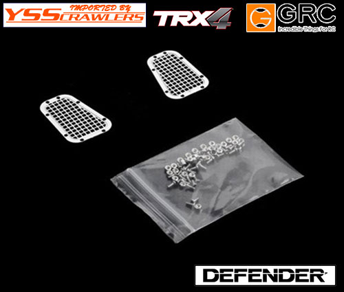 YSS GRC ボンネット ベント For TRX-4 Defender D110!