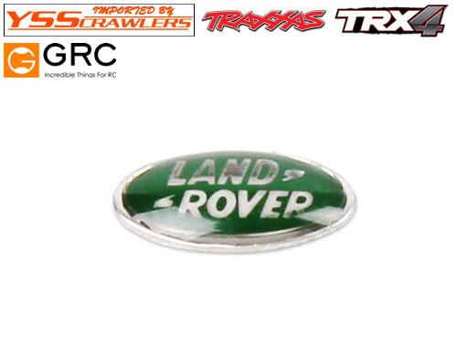 YSS GRC フロントグリル メタル エンブレム for Traxxas ディフェンダー D110!