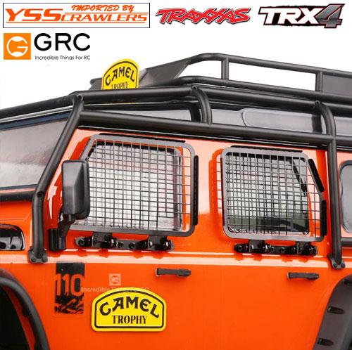 YSS GRC ハイディテール ウィンドーガード for Traxxas ディフェンダー D110!