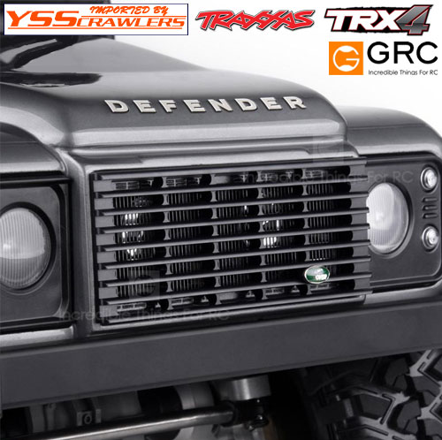 YSS GRC Metal Radiator Grill for Traxxas Defender D110