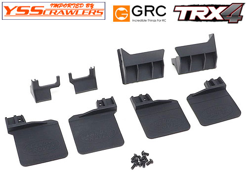 YSS GRC マッドガード for TRX-4![Land Rover][ラバー]