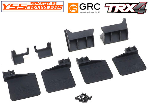YSS GRC Rubber Mud Flap for TRX4 Ford Bronco