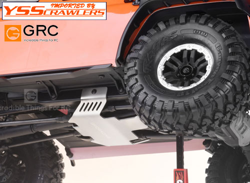 YSS GRC Stainless Steel Chassis Protection for TRX4