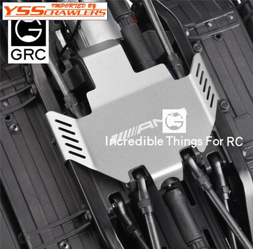 YSS GRC ステンレス スキッドプレート for TRX-4![AMGロゴ]