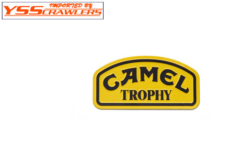 TDC Metal Sticker Camel Trophy Badge For Land Rover