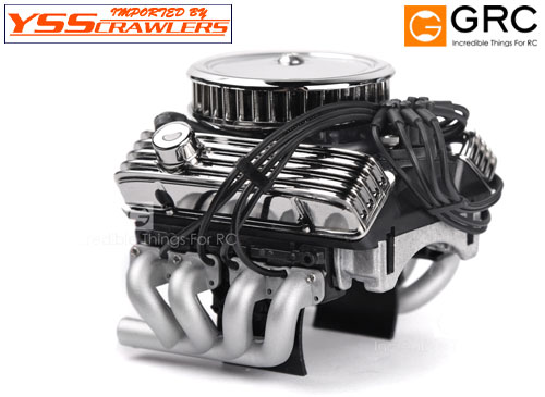 YSS GRC 1/10 ビンテージ V8 エンジン モータークーラー!