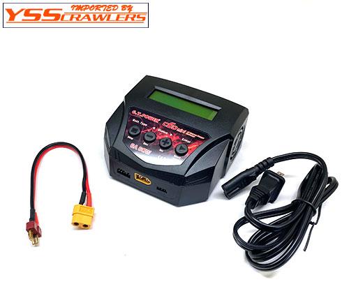 YSS GTパワー C6Dミニ AC 充放電器![60W][リポ対応]