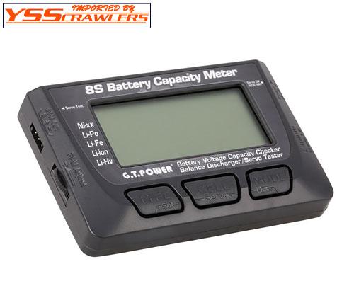 YSS GTP リポテスター LCDバッテリーチェッカー (8S)
