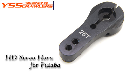 YSS 25T HD Servo horn for Futaba! [Black]