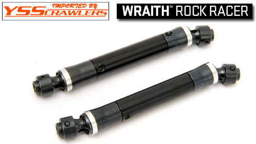 YSS HD Universal Driveshafts for WRAITH [Black]