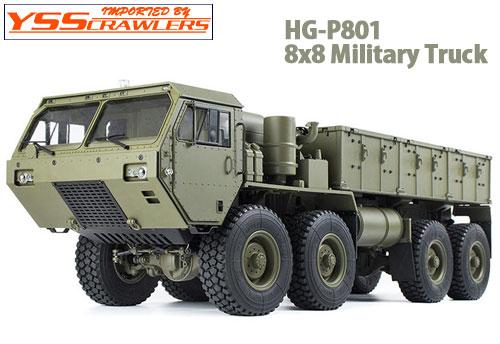 YSS HG-P801 8x8 ミリタリートラック![ARTR]