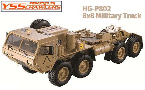 YSS HG-P802 8x8 ミリタリートラック![ARTR]