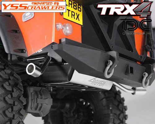 YSS TDC 燃料タンク&マフラー for Traxxas TRX-4![D110]