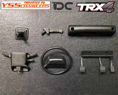 YSS TDC Interior And Cockpit for Traxxas TRX-4![D110]
