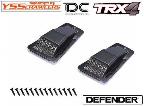 YSS TDC アルミ インテーク for Defender![A][D90-D110]