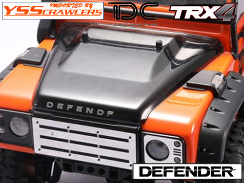 YSS TDC アルミ インテーク for Defender![C][D90-D110]