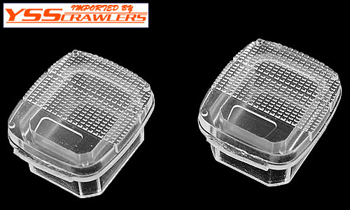 YSS Crawlers Rear Clear Lens for Tamiya Wrangler JEEP