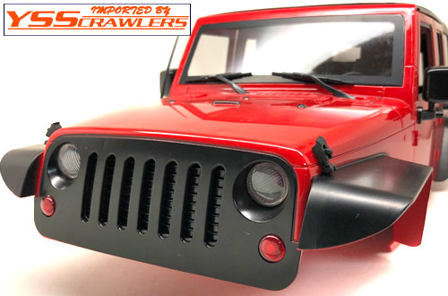 YSS JEEP Wrangler JK 4 Door! [Red]