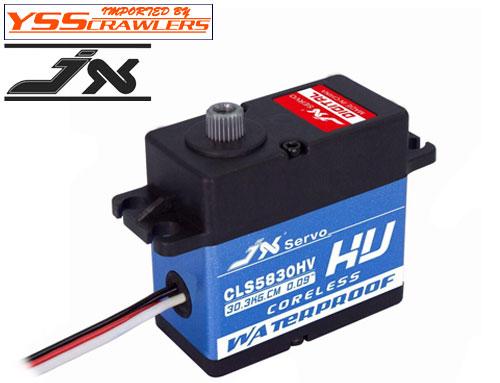 YSS JX CLS5830HV ハイトルクサーボ![30kg][8.4V][防水]