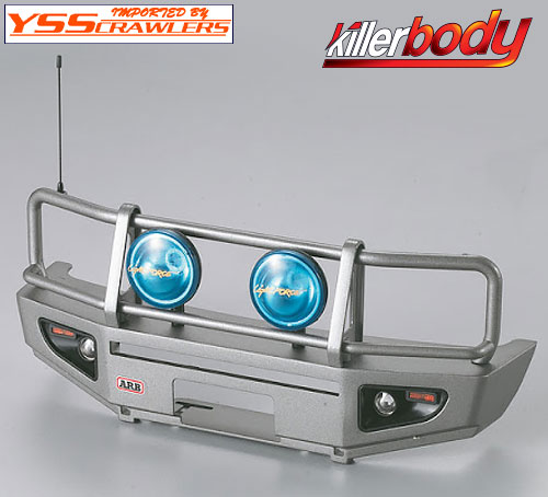 YSS キラー  LC70 ARB ブルバーフロントバンパー![ガンメタ][SCX][TF2]