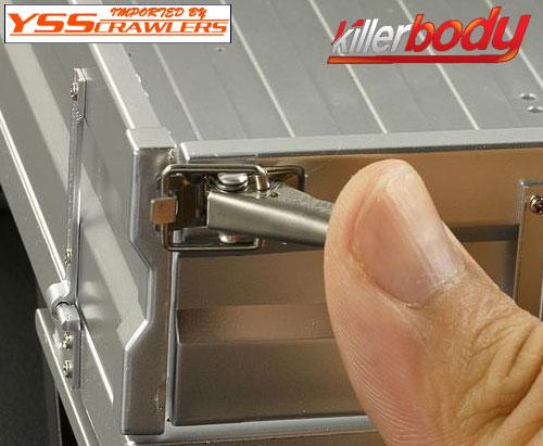YSS キラー ランドクルーザー LC70 メタルキャッチ for 開閉可能リアベッド!