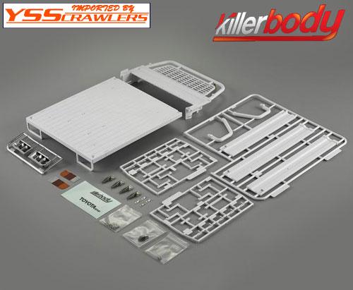 YSS キラー ランドクルーザー LC70 開閉可能リアベッド!