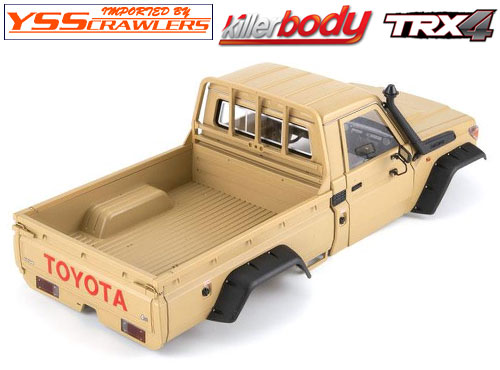 YSS Killer LandCruiser 70 Pickup Truck Body![Desert]