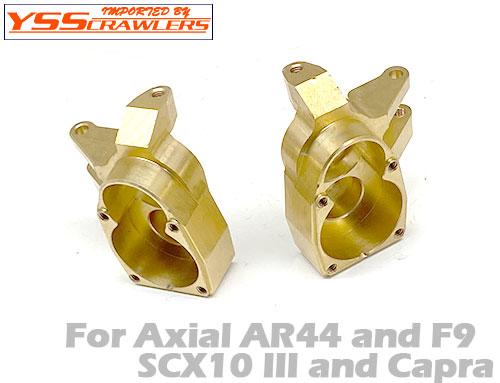 YSS フロント 真鍮(ブラス)ナックル for Axial SCX10-III!