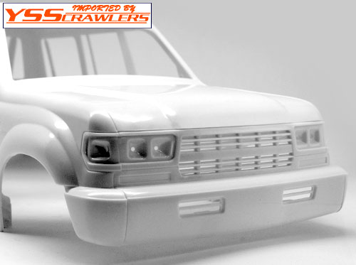 YSS Land Cruiser LC80 Plastic body! [White]