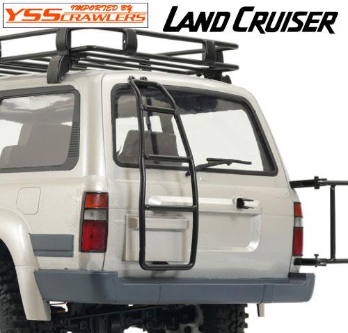 YSS 背面ラダー for ランクル LC80プラボディー!