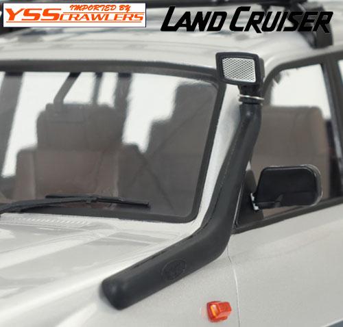 YSS リアルシュノーケル for ランクル LC80プラボディー!