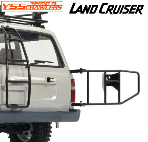 YSS 背面タイヤマウント for ランクル LC80プラボディー!