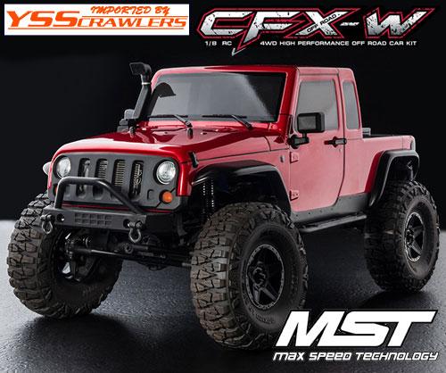 YSS MST CFX-W ジープ JP1 4WD オフロード・クローラー[キット][予約]