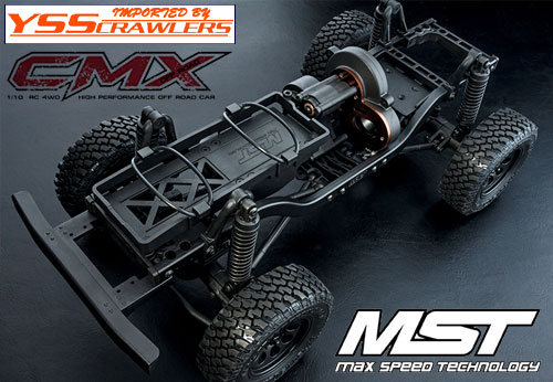 MST CMX 4WD Off-Road Car Kit J3 for MST CMX