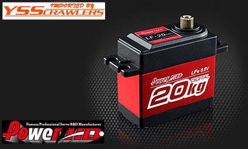 YSS Power HD LF-20MG ハイトルクサーボ![20kg][6.6V]