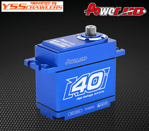 YSS Power HD WH-40 フルメタル ハイトルクサーボ![40kg][HV][防水]