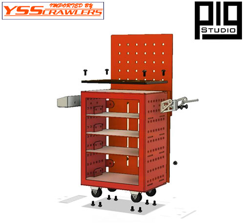 YSS PIG Mobile Tool Storage Cart