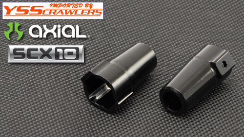 YSS HD Alum Rear Lockout for Axial SCX10! [Full Black]