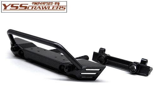 YSS ラフィー メタルフロントバンパー for Axial SCX10系![ブラック]