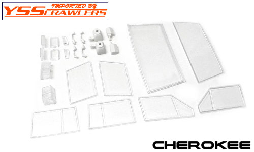 YSS ATees 1/10 Cherokee XJ Hard Plastic Body Kit!