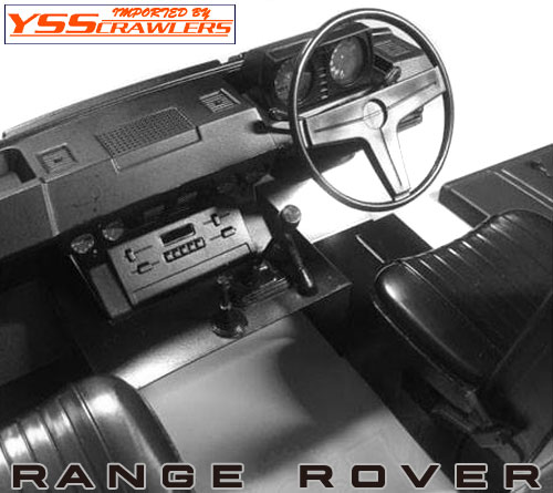 YSS Range Rover Plastic Body Set [White]
