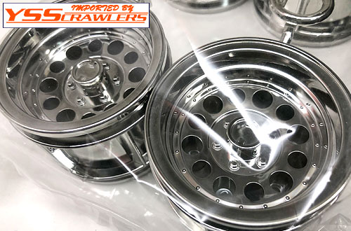 Tamiya Bruiser 2014 Stock wheels and tires! [4pcs][New]