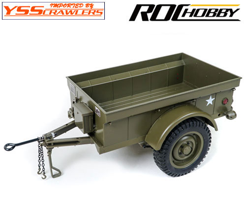 YSS ROCH 1/6 MB 4x4 US アーミー ウィリス用 M100 トレーラー!