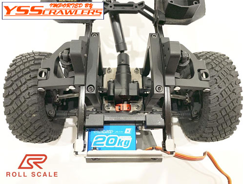 ROLL SCALE Independent Front Suspension Conversion Kit (IFS) for Axial SCX10 II for Axial SCX10 II