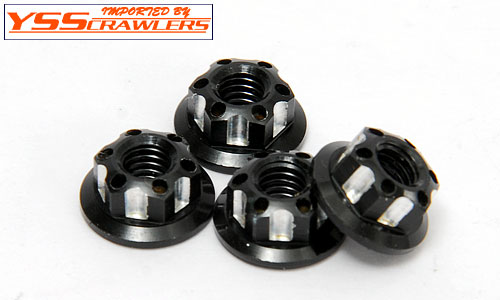 YSS Crawlers Scale Center Hub Nuts  [4pcs]