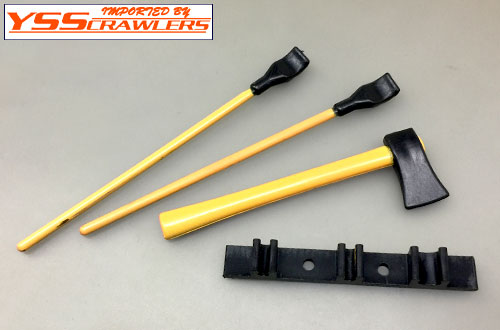 YSS Scale Parts - 1/10 [Shovel][Ber][Axe]Set!