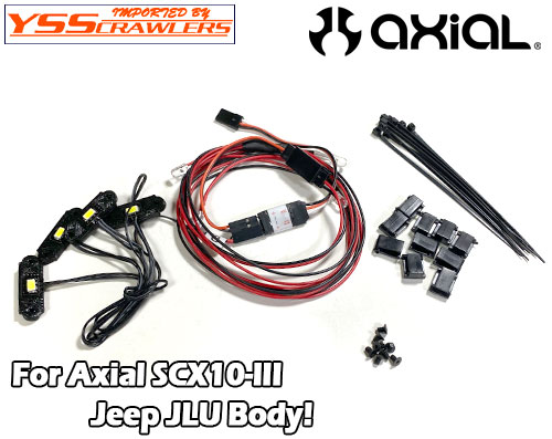 YSS フルLEDライトセット for Axial 2020 JEEP JLU![ON-OFF可]
