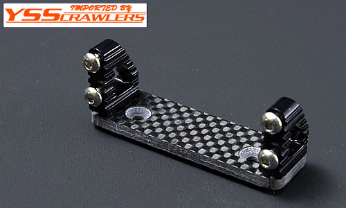 YSS Alum Servo Mount for Axial Wraith[Black]