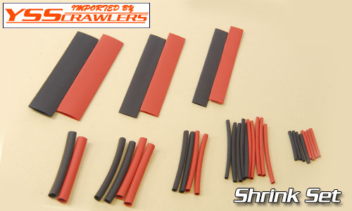 YSS Shrink Tubing Assortment Set [7kinds26pcs]