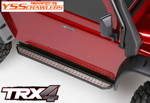 YSS サイドステップ ダイアモンドプレート for Traxxas TRX-4![D110]